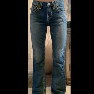 True Religion girls straight jean